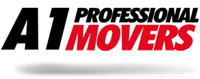 A1 Professional Movers - logo designed by J.David Lopez