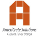 AmeriCrete Solutions - logo designed by J.David Lopez
