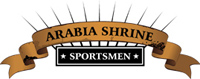 Arabia Shrine Sportsmen - logo designed by J.David Lopez