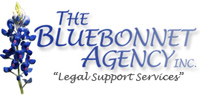 Bluebonnet Agency - logo designed by J.David Lopez