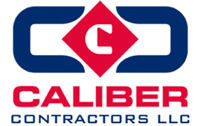 Caliber Construction - logo designed by J.David Lopez