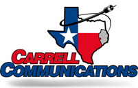 Carrell Communications - logo designed by J.David Lopez