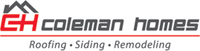Coleman Homes - logo designed by J.David Lopez