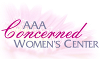 AAA Concerned Women's - logo designed by J.David Lopez
