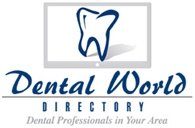 Dental World - logo designed by J.David Lopez