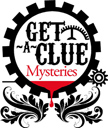 Get A Clue Mysteries - logo designed by J.David Lopez