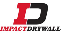 Impact Drywall - logo designed by J.David Lopez