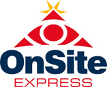 OnSite Express - logo designed by J.David Lopez