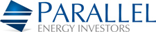Parallel Energy Investors - logo designed by J.David Lopez