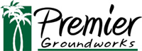 Premier Groundwoks - logo designed by J.David Lopez