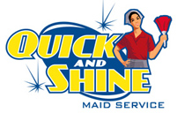 Quick Shine Maid - logo designed by J.David Lopez