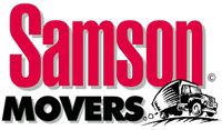 Samson Movers - logo designed by J.David Lopez