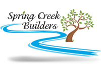 Spring Creek Builders - logo designed by J.David Lopez